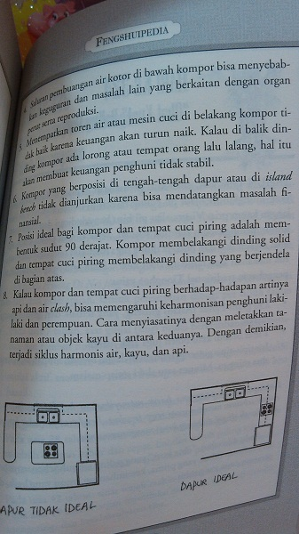 letak kompor menurut feng shui (1)