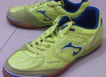 review sepatu futsal joma topflex