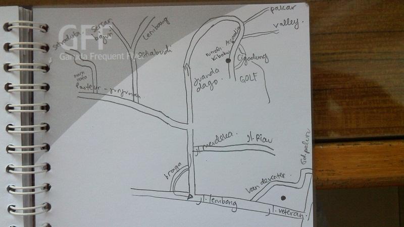 peta lokasi bandung secara garis besar dan mudah dipahami