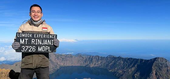 Pendakian impian ke gunung rinjani 3762 mdpl